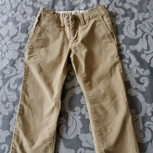 Gap boys dark khaki pants size 5